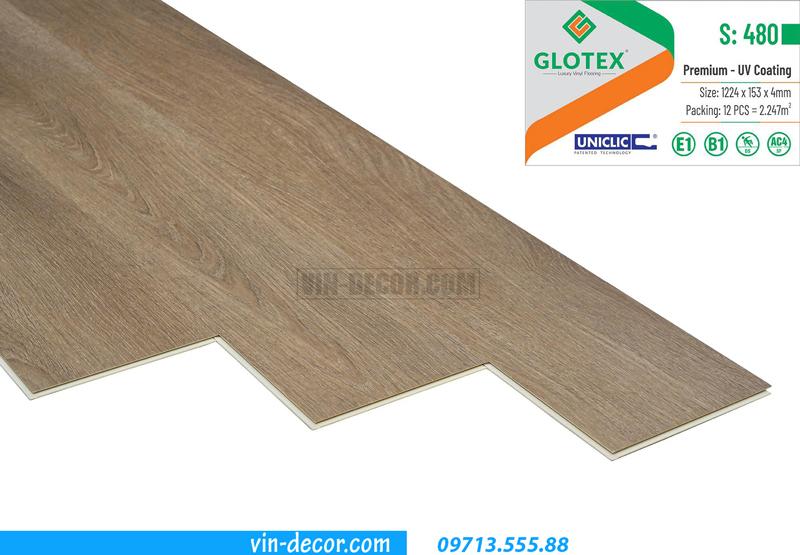sàn nhựa Glotex cao cấp S480 2