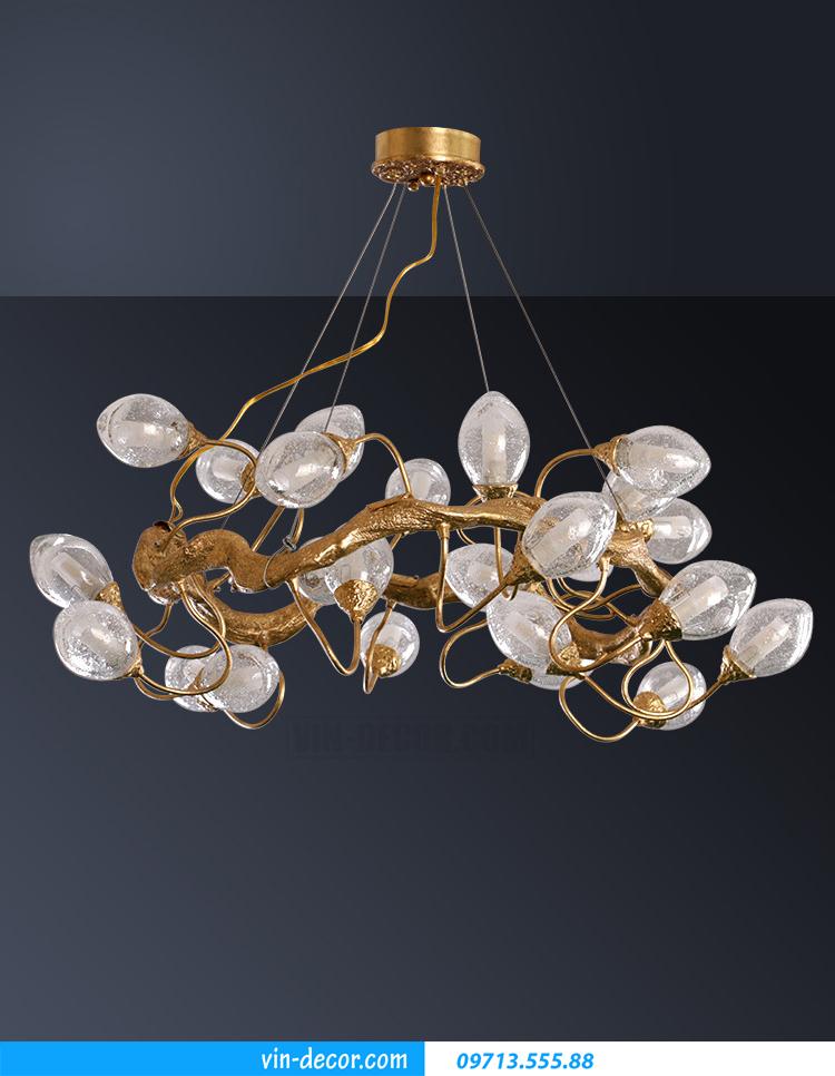 đèn chùm đồng cao cấp MDU 013 3