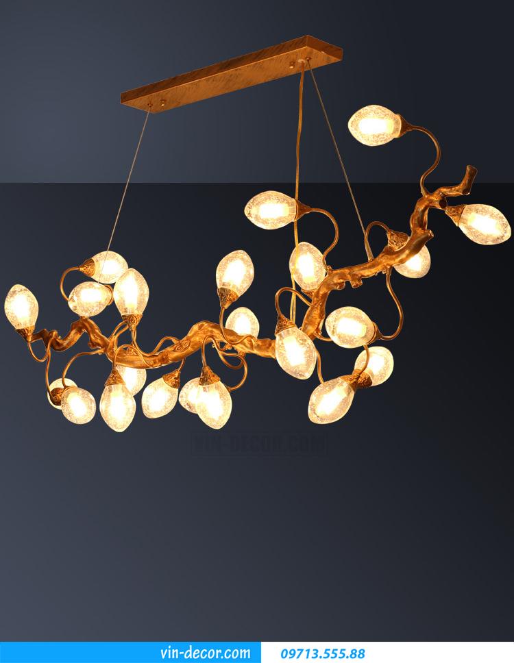 đèn chùm đồng cao cấp MDU 013 5