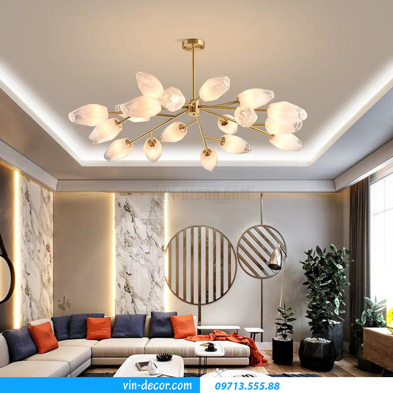 đèn phòng khách hiện đại MDU 014 3