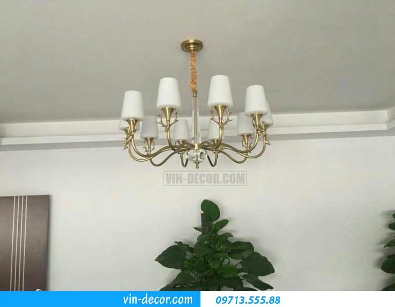 đèn chùm trang trí hiện đại sang trọng MDU 015 4