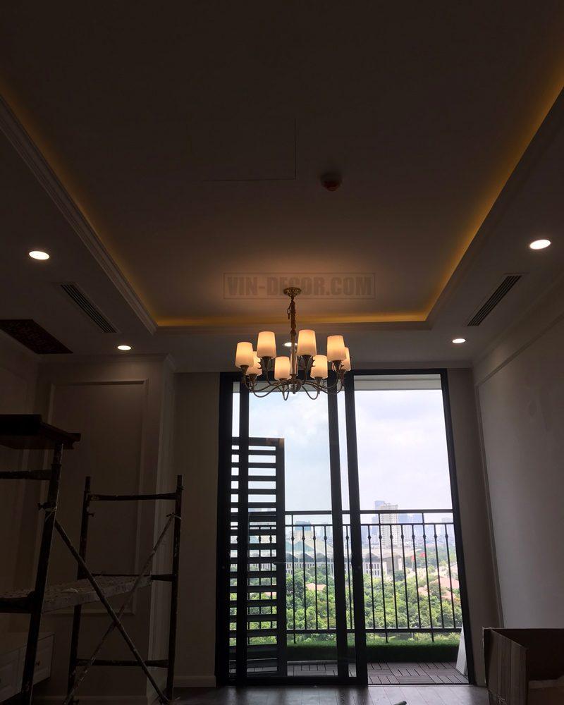 đèn chùm trang trí hiện đại sang trọng MDU 015 6