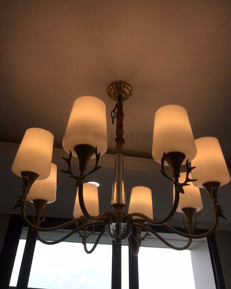 đèn chùm trang trí hiện đại sang trọng MDU 015 7