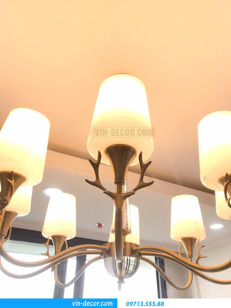 đèn chùm trang trí hiện đại sang trọng MDU 015 8