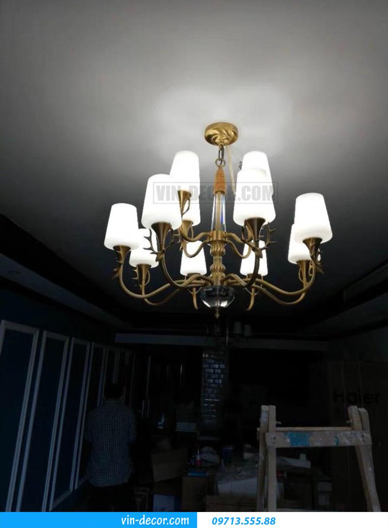 đèn chùm trang trí hiện đại sang trọng MDU 015 9