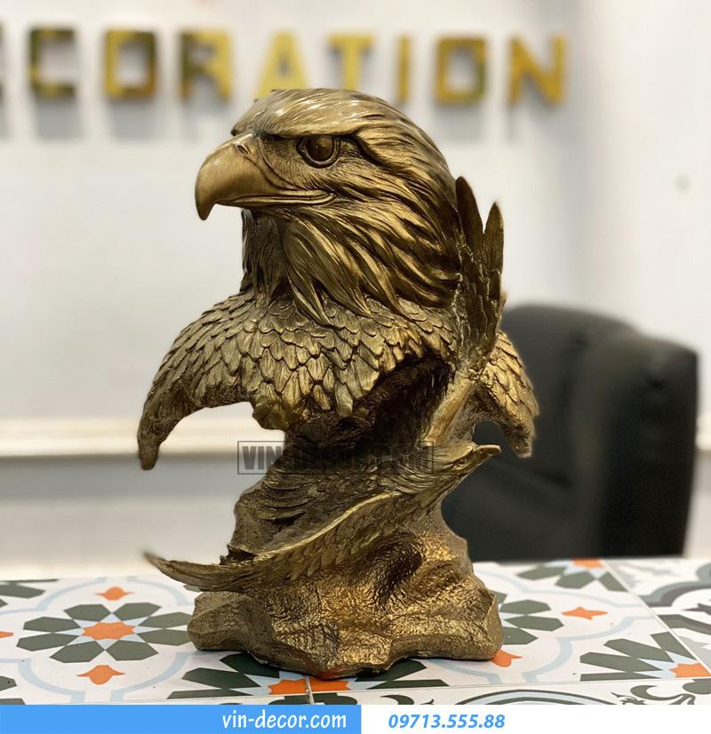 decor đầu chim đại bàng MDU 021 4