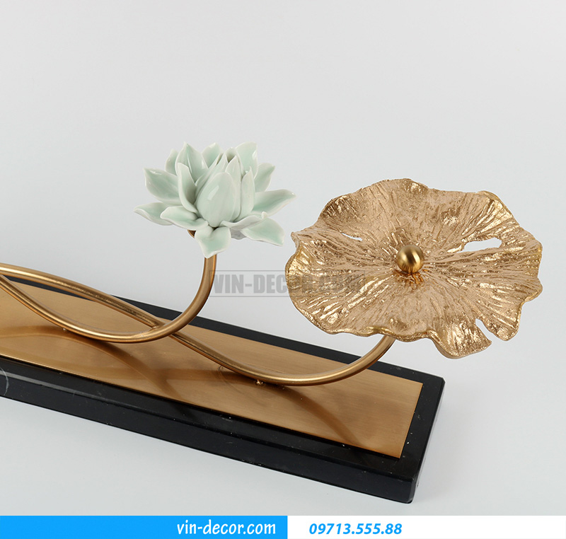decor hoa sen trưng bày MDU 023 2