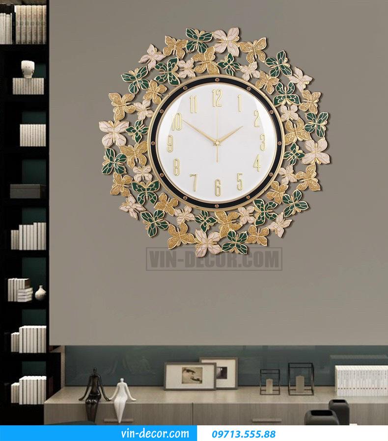 đồng hồ decor treo tường MDU 019 1
