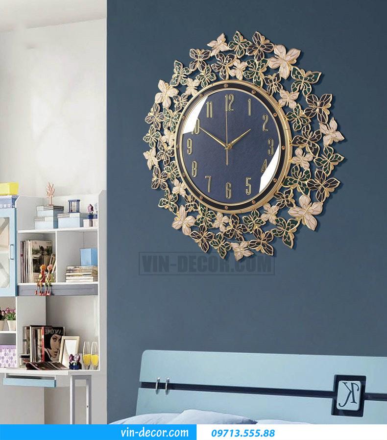đồng hồ decor treo tường MDU 019 2