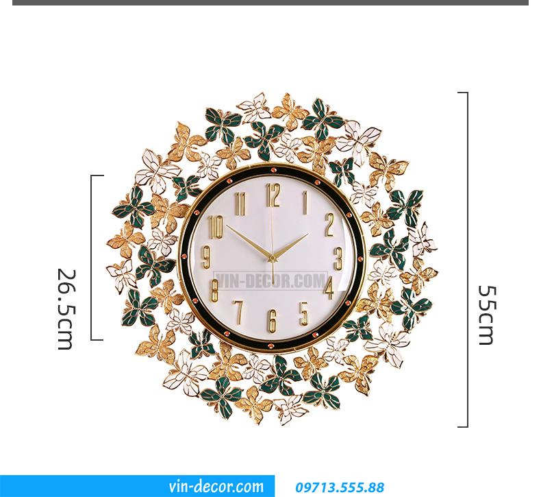 đồng hồ decor treo tường MDU 019 3