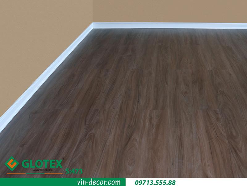 sàn nhựa vân gỗ Glotex S473 5