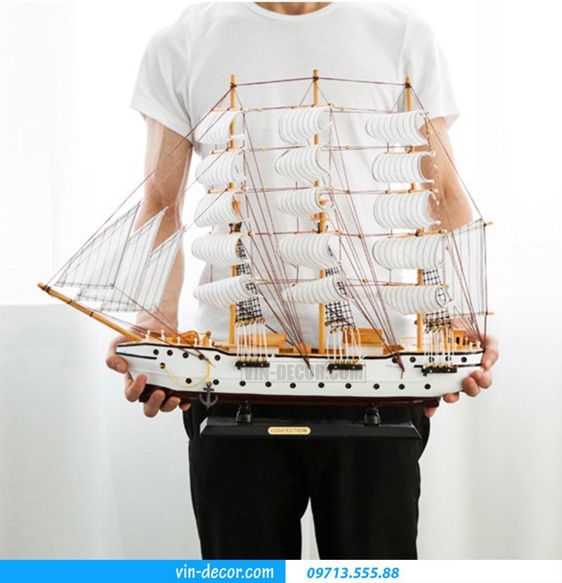 thuyền decor trưng bày MDU 032 1