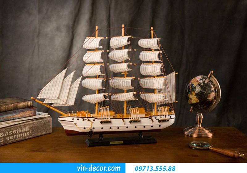 thuyền decor trưng bày MDU 032 2