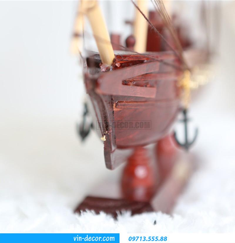 thuyền trang trí kệ KT 40cm MDU 034 4